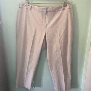 Talbots Heritage fit ankle dress pants 22W